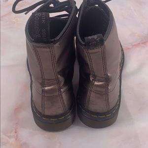 Dr. Martens Shoes - Dr marten metallic bronze size 7 1460 boots